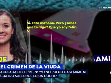 """La reveladora conversación de la viuda de Novelda con una amiga tras la muerte de su marido: """"Yo soy feliz"""""""