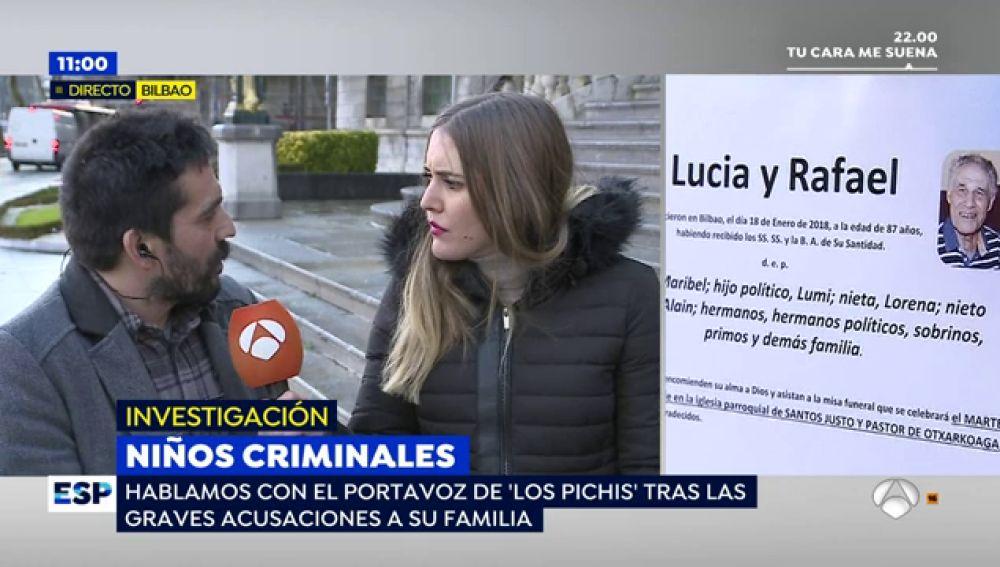 """El portavoz de 'Los Pichis' denuncia el acoso que viven tras el asesinato de los ancianos en Bilbao: """"No tenemos nada que ver"""""""