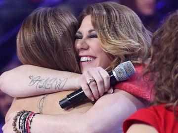 Las bonitas y emotivas palabras del jurado de 'Tu cara me suena' a Tamara