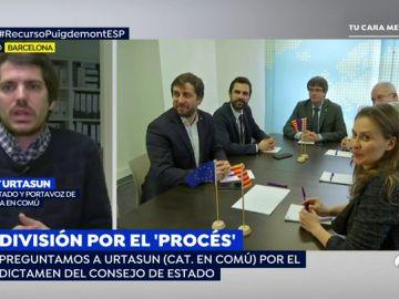 """Urtasun:  """"Se está alargando una agonía de forma innecesaria porque todo el mundo sabe que Puigdemont no puede ser president"""""""
