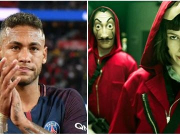 Neymar, fan absoluto de 'La casa de papel'