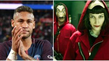 Neymar, fan absoluto de 'La casa de papel'