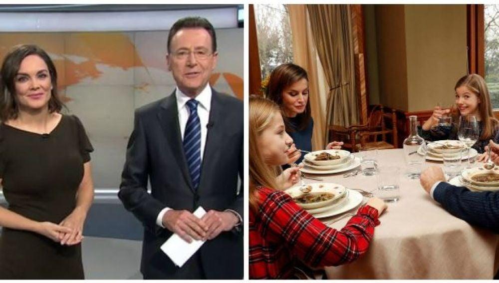 El divertido comentario de Matías Prats sobre la anécdota de la infanta Leonor con la sopa