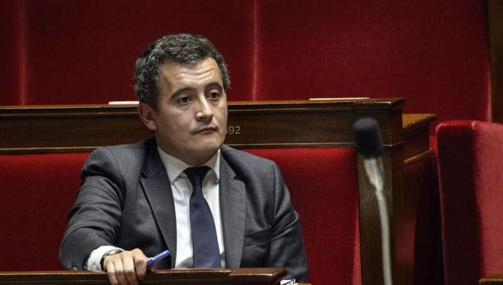 El ministro francés de Hacienda, Gérald Darmanin