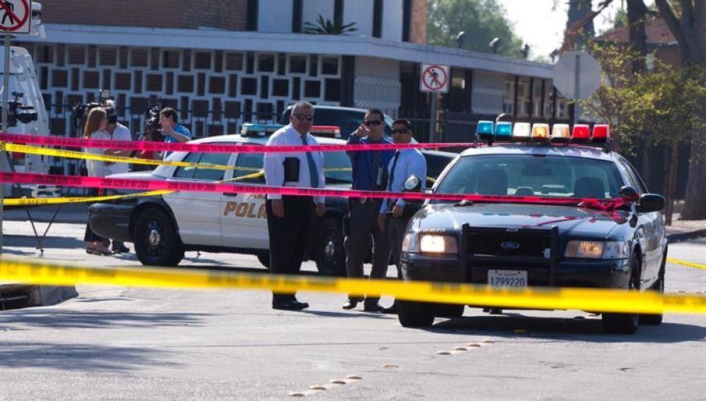 Varios coches de Policía en EEUU