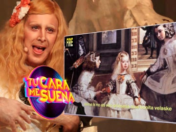 El curioso mensaje que esconde 'Velaske, ¿yo soi guapa?, el viral trap interpretado por David Amor en 'Tu cara me suena'