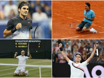 Federer conquista su vigésimo Grand Slam