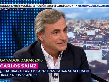 """Carlos Sainz, tras ganar su segundo Dakar: """"Me siento muy orgulloso como español de poner mi granito de arena para que estemos en lo más alto del deporte"""""""