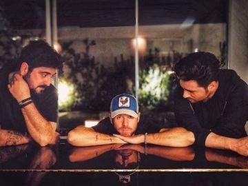 Antonio Orozco, Pablo López y David Bustamante