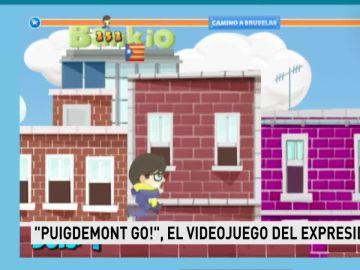 Juego de 'Puigdemont Go!'