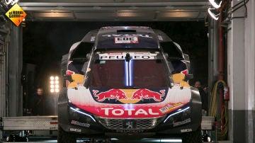 Carlos Sainz pone a prueba en 'El Hormiguero 3.0' el coche con el que ganó el Rally Dakar 2018