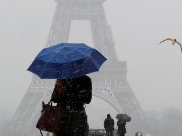 Temporal de nieve en Francia