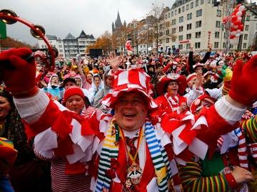 Desfile de Carnaval en Alemania