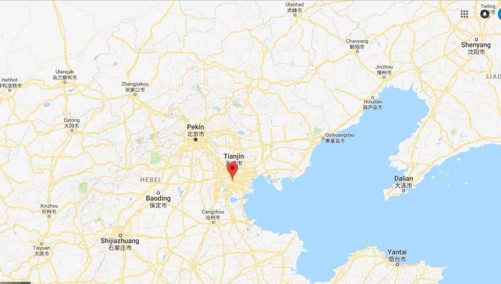 Xinli, lugar en el que se ha encontrado la tumbra en China