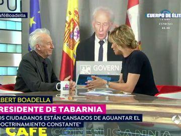 """El presidente de Tabarnia 'en el exilio', sobre los independentistas: """"Viven en una ficción que no tiene límites"""""""