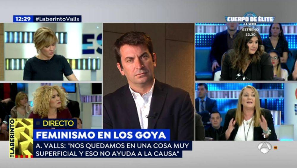 """Arturo Valls, sobre las críticas por sus declaraciones en los Goya: """"La gente con sensatez entendió mis palabras"""""""