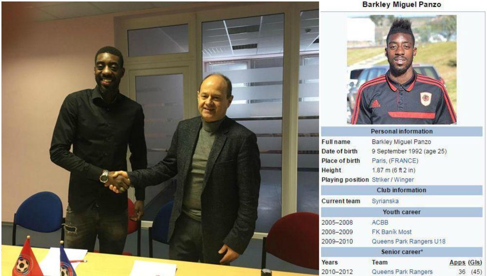 Un jugador ficha por un club europeo tras falsificar sus datos en Wikipedia