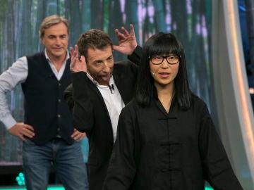 Yibing enseña en 'El Hormiguero 3.0' algunos de los mejores movimientos de Kung-fu