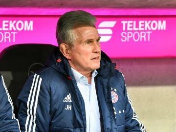 Jupp Heynckes, durante un partido del Bayern