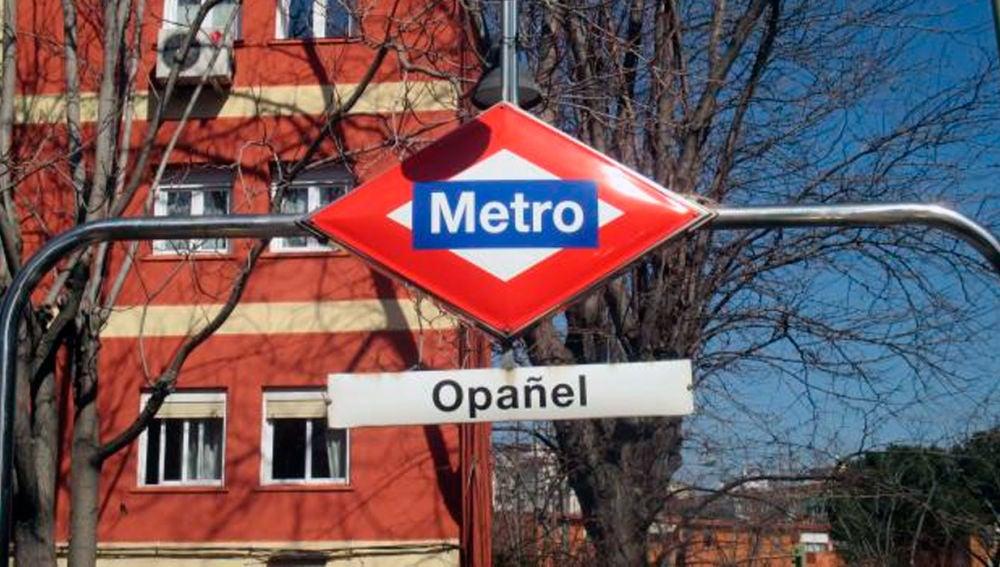 Parada de metro de Opañel, Madrid