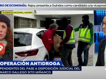 'Sito Miñanco' y otros 29 detenidos en la 'operación Mito' declaran en la Audiencia Nacional ante la juez Lamela