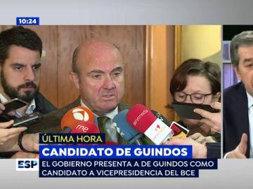 Luis de Guindos será el candidato español a la vicepresidencia del BCE