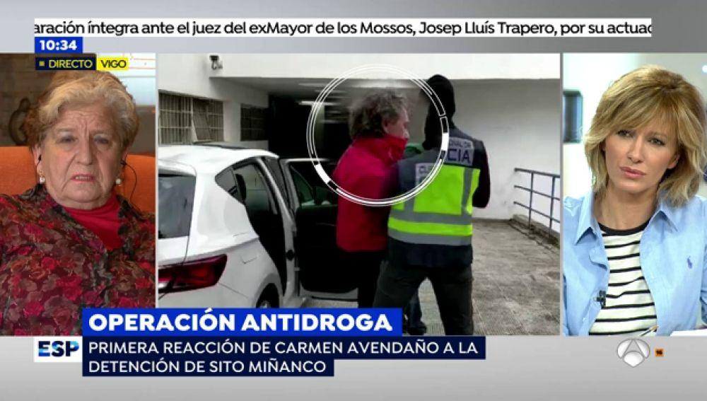 """Carmen Avendaño, madre coraje contra la droga: """"Sito Miñanco ha sido un favorecido de la justicia"""""""