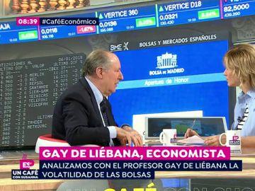 """José María Gay de Liébana: """"Si endeudarse era barato, a partir de ahora será un poco más caro"""""""