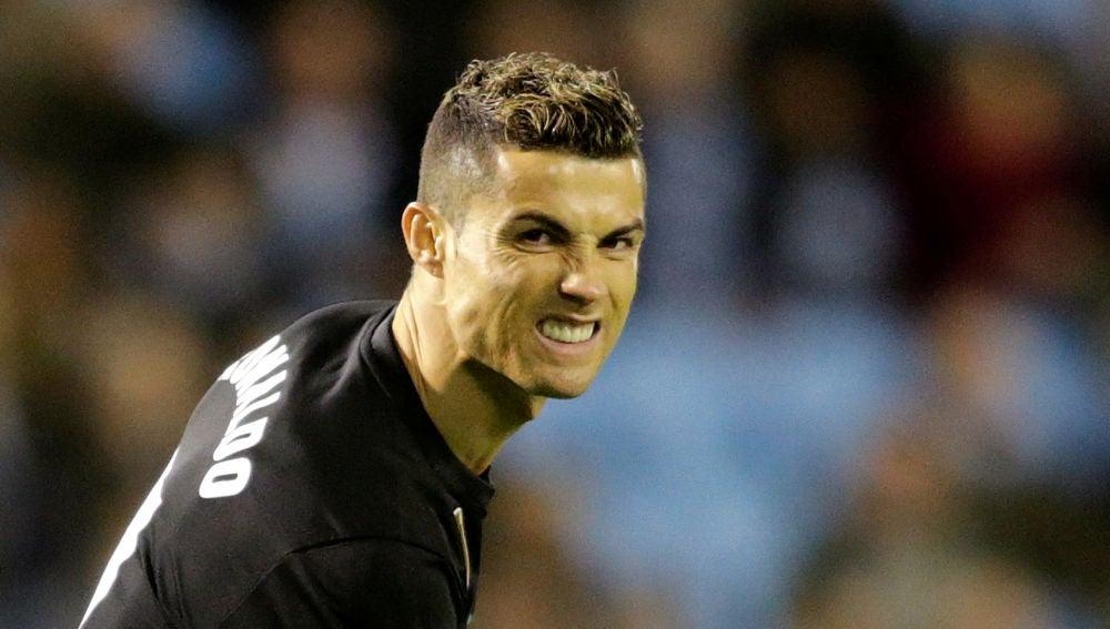 Cristiano Ronaldo, durante un partido