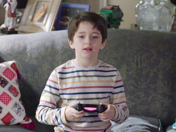 Lucas Blas es Martín, el hijo de Elena y Nacho