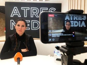 Diana Navarro en el Facebook Live.