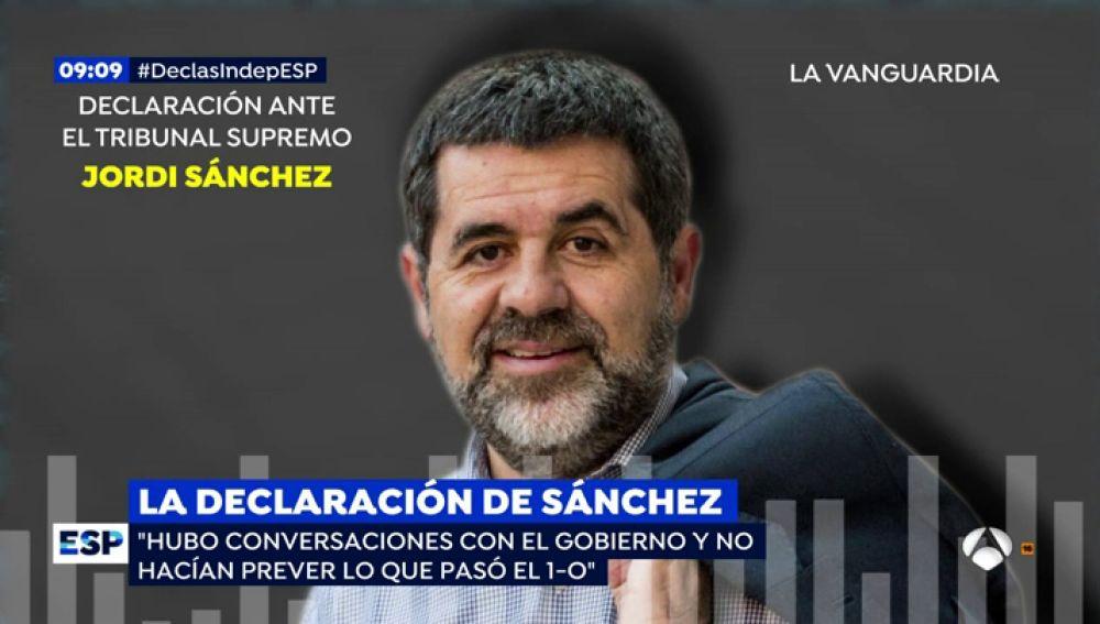 El expresidente de la ANC y diputado de JxCat, Jordi Sànchez