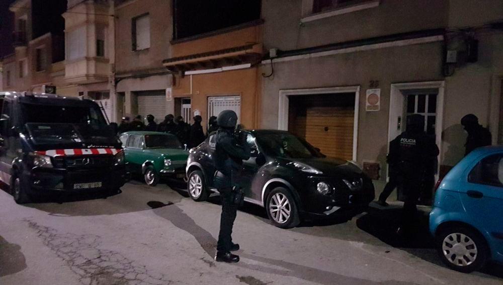 Operación policial de los Mossos