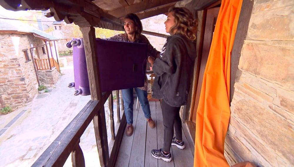 Sheyla y Carolyne, un gran 'bollo team'