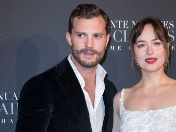 Jamie Dornan junto a Dakota Johnson