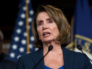 La demócrata, Nancy Pelosi