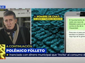 """El abogado del Policía que denunció el chat en el que se insulta a Carmena: """"Él está sufriendo las consecuencias de haber sido valiente"""""""