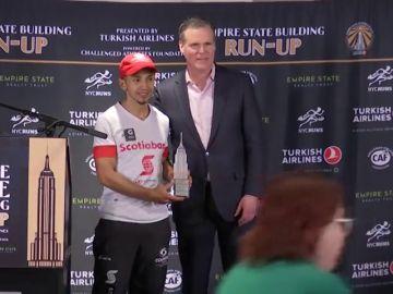 El colombiano Frank Nicolás Carreño y la australiana Suzy Walsham ganan el ascenso de los 1.576 peldaños del Empire State