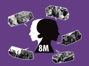 Huelga feminista convocada el 8 de marzo