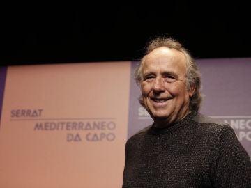 """Joan Manuel Serrat en la presentació de la gira """"Mediterráneo da capo""""."""
