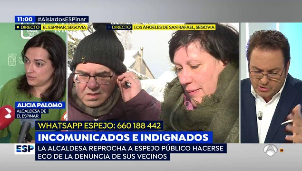 ANTENA 3 TV   Temas de actualidad   Alcaldesa del Espinar