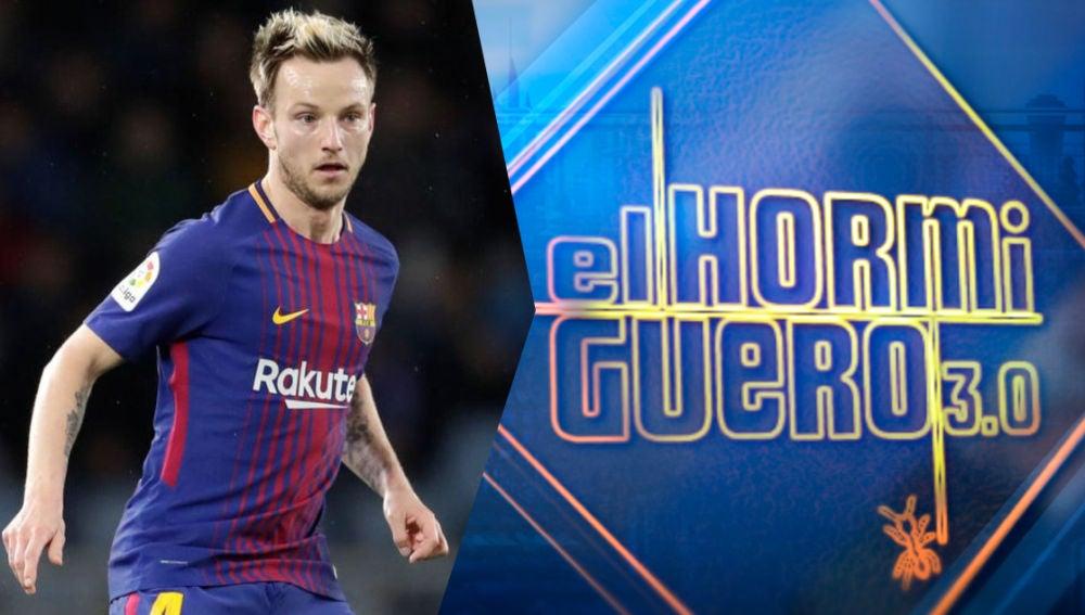 El futbolista del FC Barcelona, Ivan Rakitic, visita el lunes 'El Hormiguero 3.0'