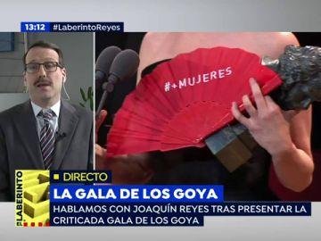 """Joaquín Reyes, sobre presentar la gala de los Goya: """"Fuimos los primeros que dijimos que sí"""""""