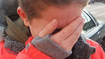 Kelsey después de que su padre la obligara a cortarse el pelo