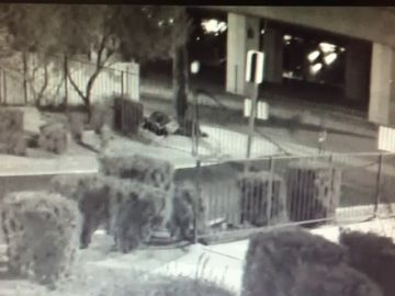 Una cámara de seguridad graba un asesinato en Las Vegas