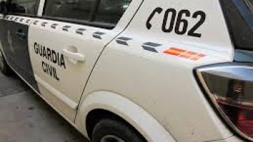 Borrosa - No usar - coche guardia civil
