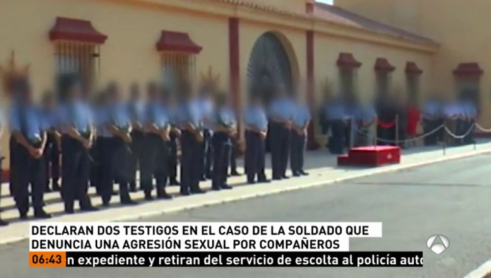 Antena 3 tv un juzgado militar cita a dos soldados como testigos por la denuncia por agresi n for Juzgado togado militar