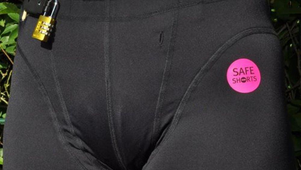 Pantalones anti violaciones