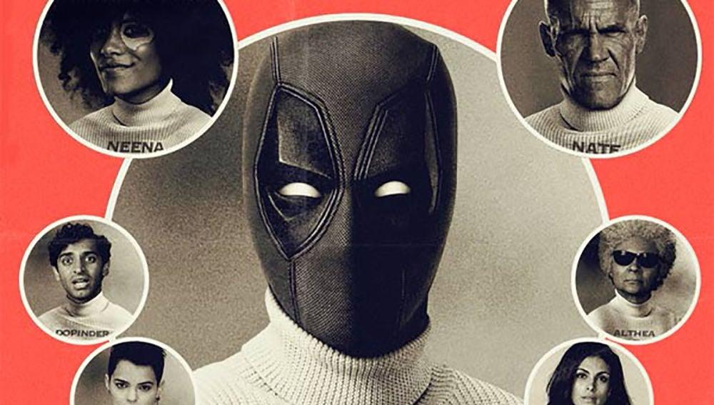 El cartel vintage de 'Deadpool 2'
