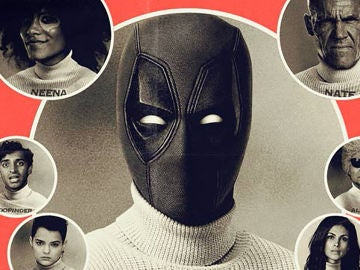El cartel vintage de 'Deadpool 2'
